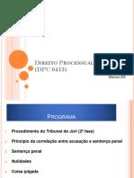 Direito Processual Penal IV - Bibliografia (Prof. Zilli/FDUSP)
