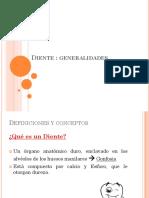DIENTE-nomenclatura