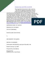 Mohawk Case 2006-8 Katenies [Aka Janet Davis]