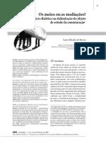 ARTIGO - OS MEIOS OU MEDIAÇÕES.pdf
