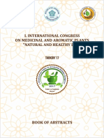 1-500 pages for Book of Abstracts - I. INTERNATIONAL CONGRESS on MEDICINAL and AROMATIC PLANTS