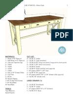 DIY Ehlers Desk