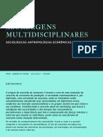 Abordagens Multidisciplinares Sociologia (1)