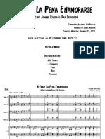 No Vale La Pena - Score(Full Permission)