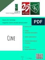 Los Medios-El Cine- Samuel Lerotich, Caterina Montani.