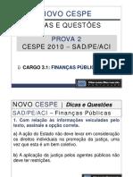 Aula 006 - Prova 2 - Analista de Controle Interno - Finanças Públicas