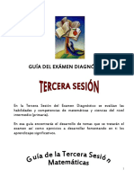3ERA. SESION DIAGNOSTICA