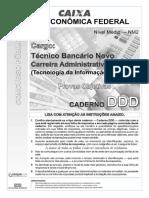 Aula 18 - Prova 6 - Caixa-NM2 - Técnico Bancário Novo