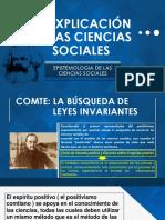 La Explicación en Las Ciencias Sociales