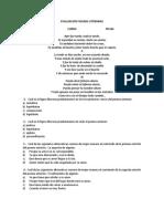 Evaluacion Figuras Literarias 11