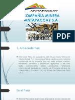 Compañía Minera Antapacay Diapos