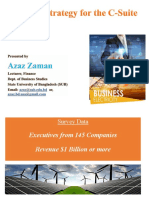 Energy Strategy for the C-Suite