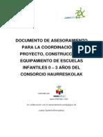 Coordinacion Proyectos, Construccion y Equipamiento