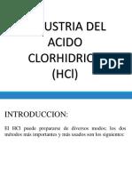 Industria Del Acido Clorhidrico