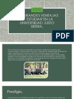 Las Grandes Ventajas de Estudiar en La Universidad Justo Sierra