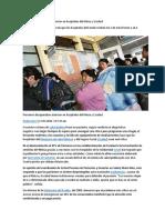 Peruanos Desaprueban Atención en Hospitales Del Minsa y Essalud