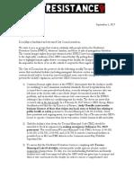 NWDCR Tacoma Letter 2017