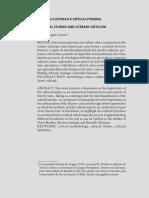 Estudos Culturais e Críticas Lietrárias