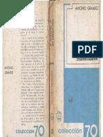 Gramsci, Antonio - La Formación de Los Intelectuales, Ed. Grijalbo, México, 1967