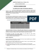 Cerco IEP 70566 Quita - Aspectos de Seguridad en Obra