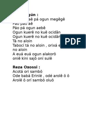 Reza Oxossi