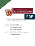 Escuela Profesional de Educación META