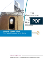 Practical Action- Timberless House Sudan