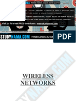 Ec1016 Wireless Networks Notes