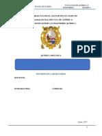 informe 2° de orgánica
