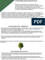 Ejes de La Sustentabilidad Intelectual