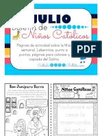 2017 Julio Boletín de Niños Católicos