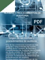 1.Origen de Las Normas y Procedimientos de Auditoria