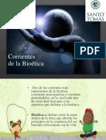 Corrientes Bioetica.