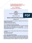 Bba107 - Organizational Behaviour