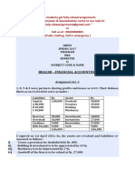 Bba208 - Financial Accounting