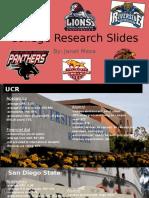 college research slides - janet meza