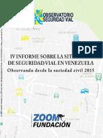 IV Informe Seguridad Vial Venezuela