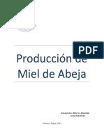 Miel de Abeja Jaime Alvarado