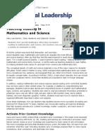 Teaching Reading in Math & Science (Barton, Heidema, Jordan) - Book Review.pdf