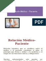 Relacion Medico-paciente -