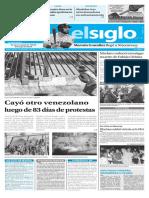Edicion Impresa El Siglo 23-06-2017