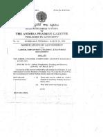 AP Gazette on Compulsory Gratuity Insurance