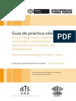 GPC Esquizofrenia Para Profesionales.