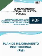 PROPUESTA DE ÉTICA DEL MEC PY