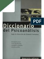 Diccionario de Psicoanalisis - Roland Chemama.pdf