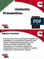 Mantenimiento Preventivo ISX 2005