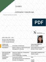 Presentación CUIDEN I - EnFPD Prof. Glenni