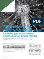 2016 Iannelli - Eficiencia en El Calentamiento de Agua - Consumos Pasivos