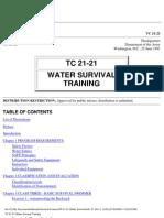 Water Survival Training
