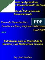 Erosion en Rios y Defensas Ribereñas